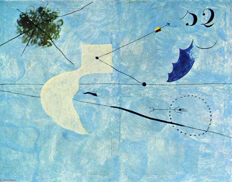 Acheter Reproductions D'art De Musée | sieste de Joan Miro | Most-Famous-Paintings.com