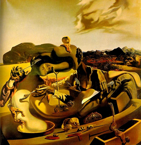 | cannibalisme d'automne de Salvador Dali | Most-Famous-Paintings.com