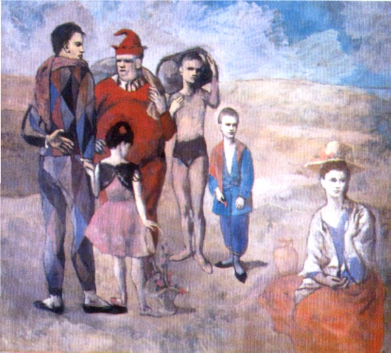 | Saltimbanques ( la famille des saltimbanques ) de Pablo Picasso | Most-Famous-Paintings.com