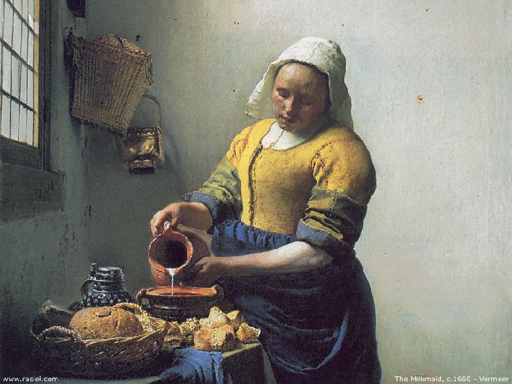 La Laitiere de Jan Vermeer