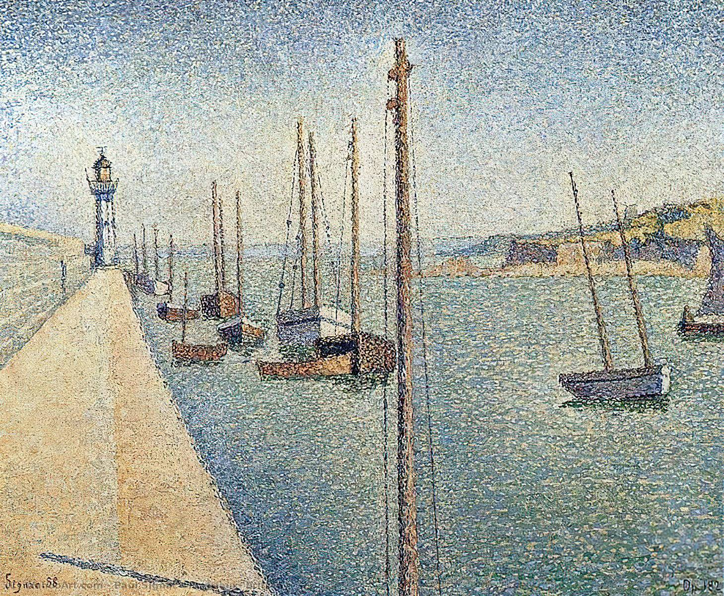 Achat Reproductions De Peintures | Portrieux , Bretagne de Paul Signac | Most-Famous-Paintings.com