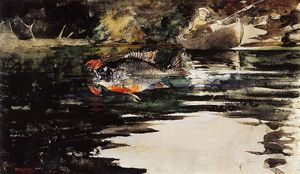 Winslow Homer - Un Catch Unexpected