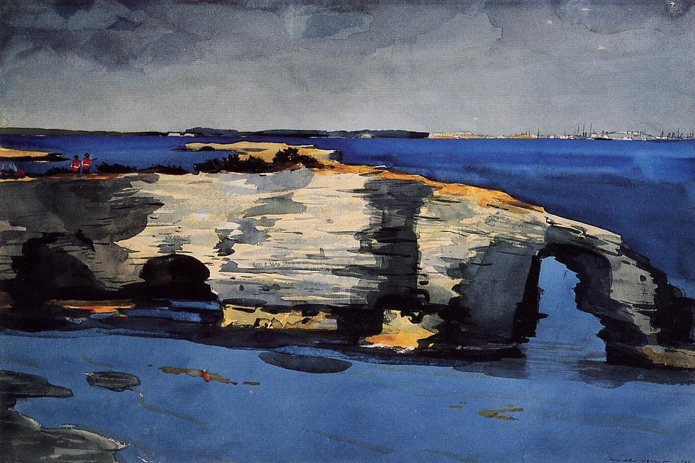 famous painting Formation Coral of Winslow Homer