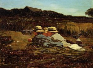 Winslow Homer - Les oiseaux Catchers