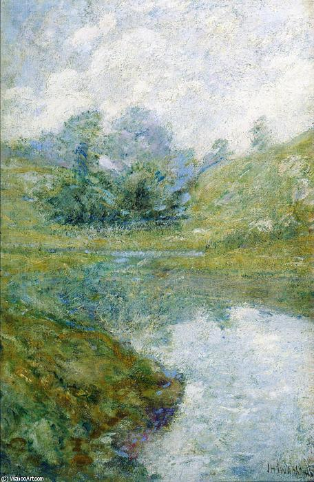 famous painting Paysage 3 of John Henry Twachtman
