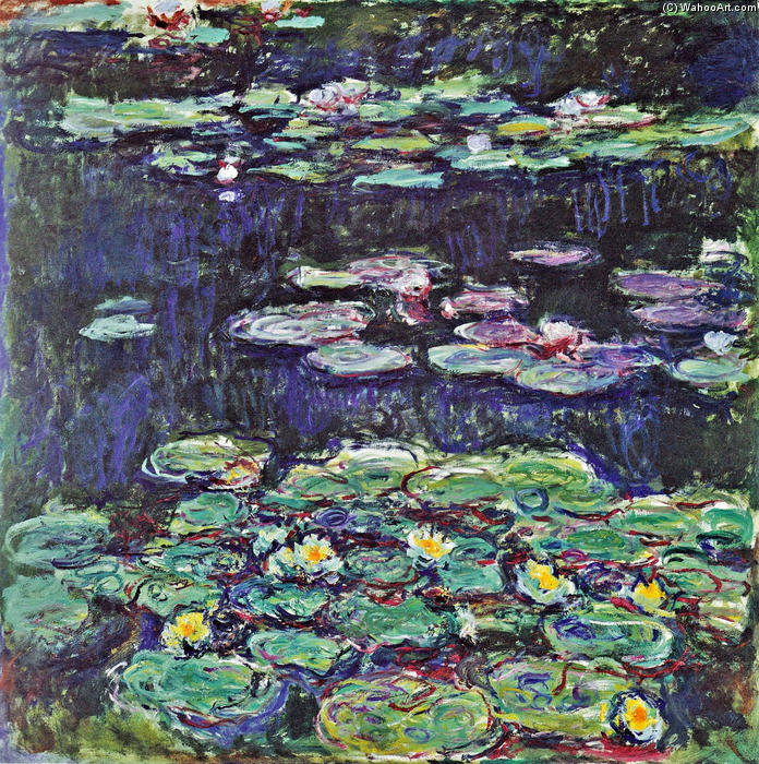 Achat Reproductions D'œuvres D'art |  nénuphars 43 de Claude Monet | Most-Famous-Paintings.com