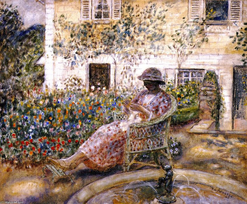 Acheter Reproductions D'art De Musée | le fontaine de Frederick Carl Frieseke | Most-Famous-Paintings.com