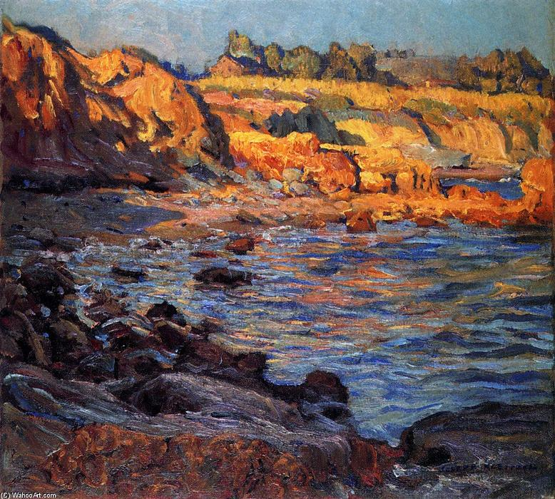 famous painting Cliffs or of Joseph Kleitsch