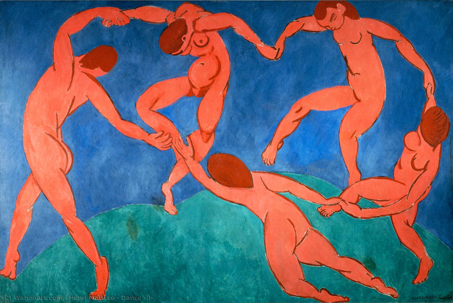 | Danse ( II ) de Henri Matisse | Most-Famous-Paintings.com