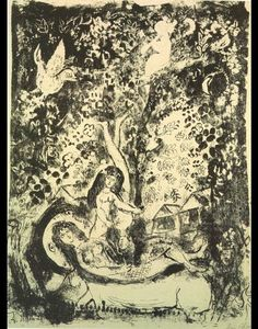 Marc Chagall - Direction et flute-player