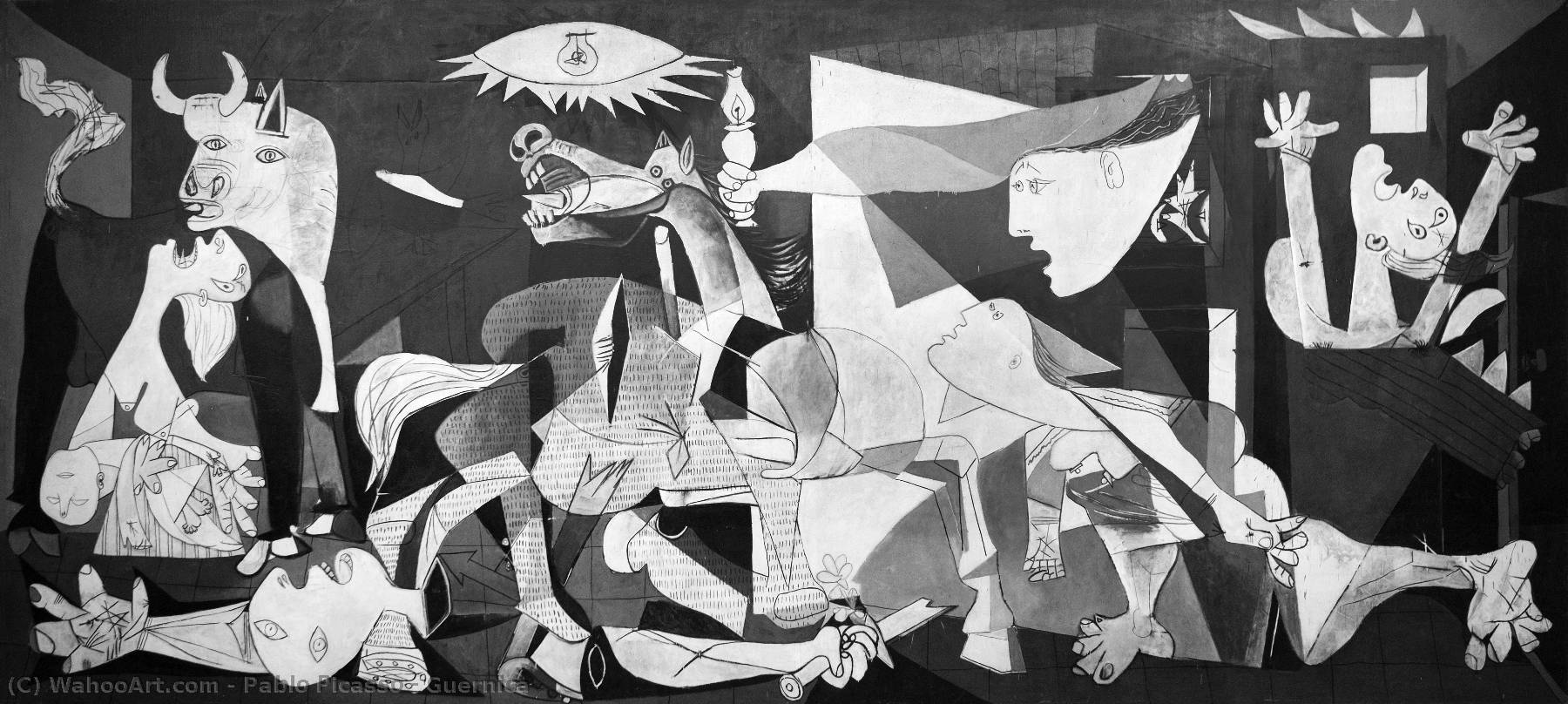 famous painting Guernica of Pablo Picasso