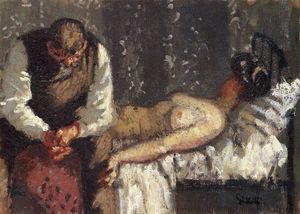 Walter Richard Sickert - La Ville Assassiner Camden, ou Que ferons-nous pour le loyer?
