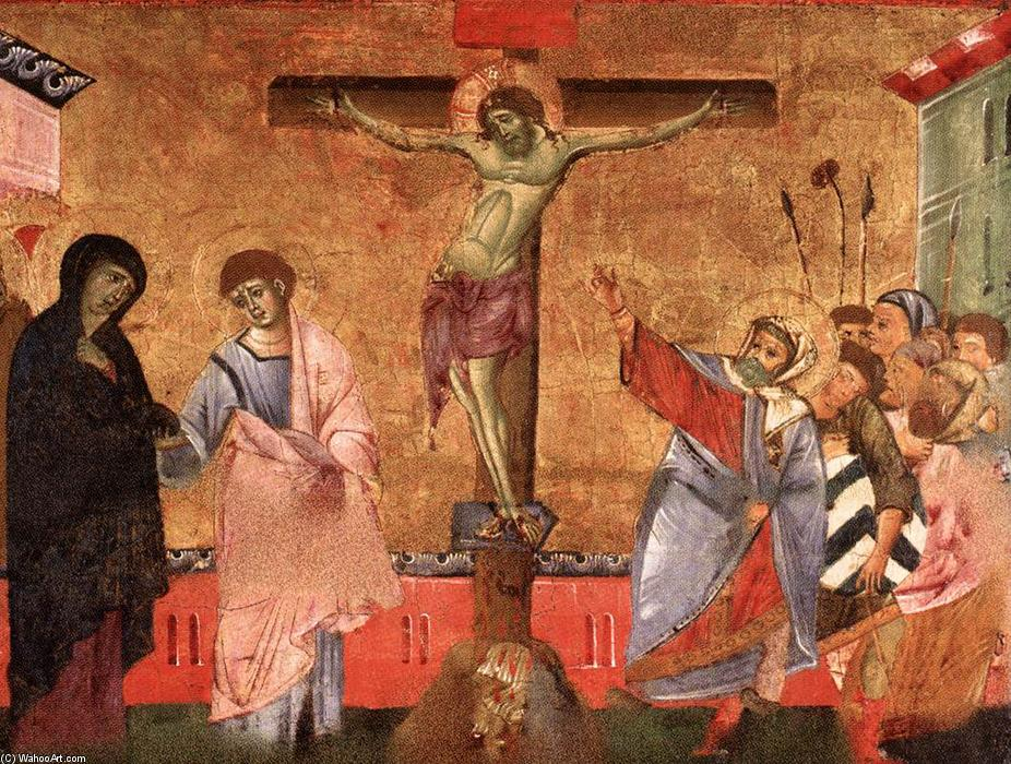 famous painting Crucifixion of Guido Da Siena