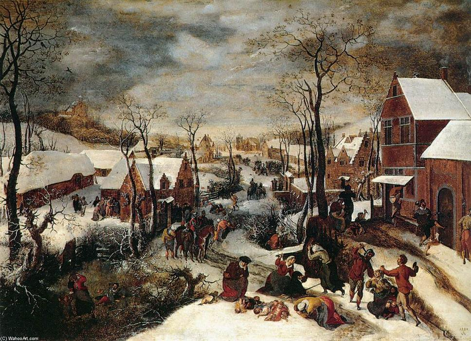 famous painting Le Massacre des Innocents of Lucas Van Valkenborch