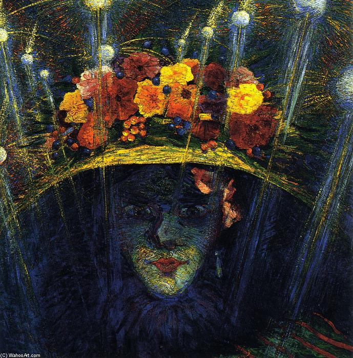 Achat Reproductions D'œuvres D'art | idole moderne de Umberto Boccioni | Most-Famous-Paintings.com