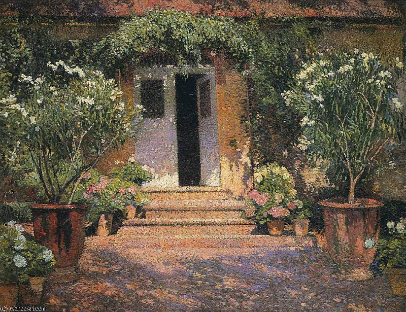 Achat Reproductions De Peintures | port entree une Marquayrol de Henri Jean Guillaume Martin | Most-Famous-Paintings.com