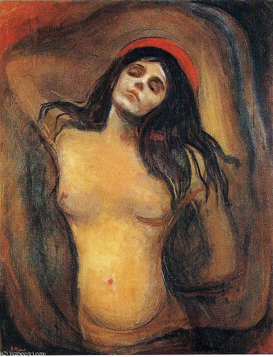 Acheter Reproductions D'art De Musée | Untitled (5816) de Edvard Munch | Most-Famous-Paintings.com