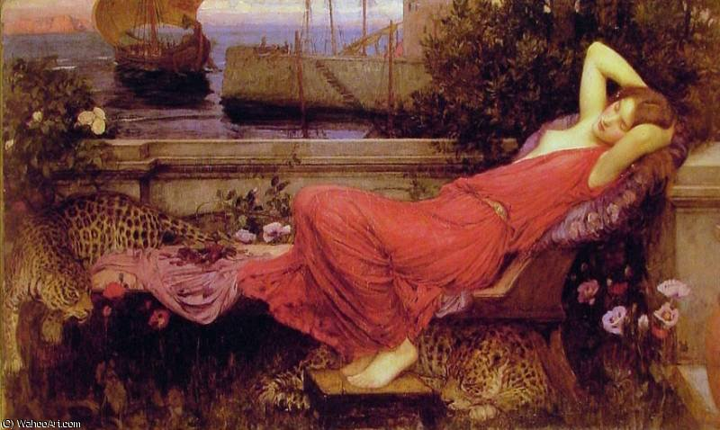 famous painting sanstitre 3122   of John William Waterhouse