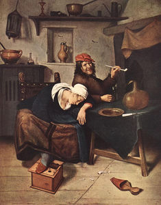 Jan Havicksz Steen - le buveur