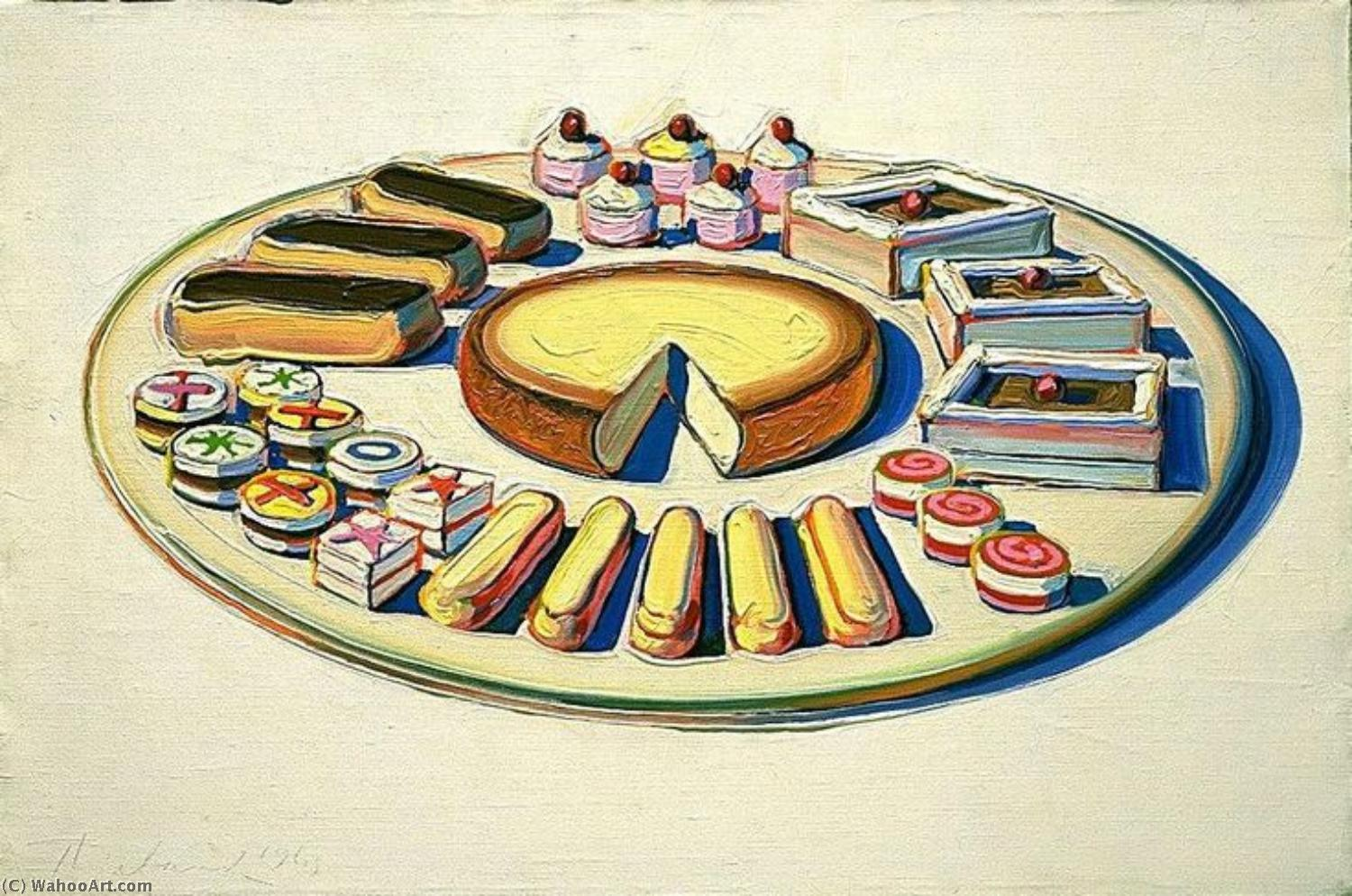 | pop art de Wayne Thiebaud | Most-Famous-Paintings.com