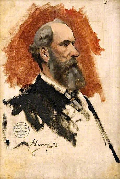 famous painting J . Wyllie Guilde ( croquis ) of John Lavery