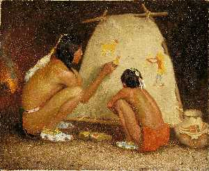 Eanger Irving Couse - indien peintre