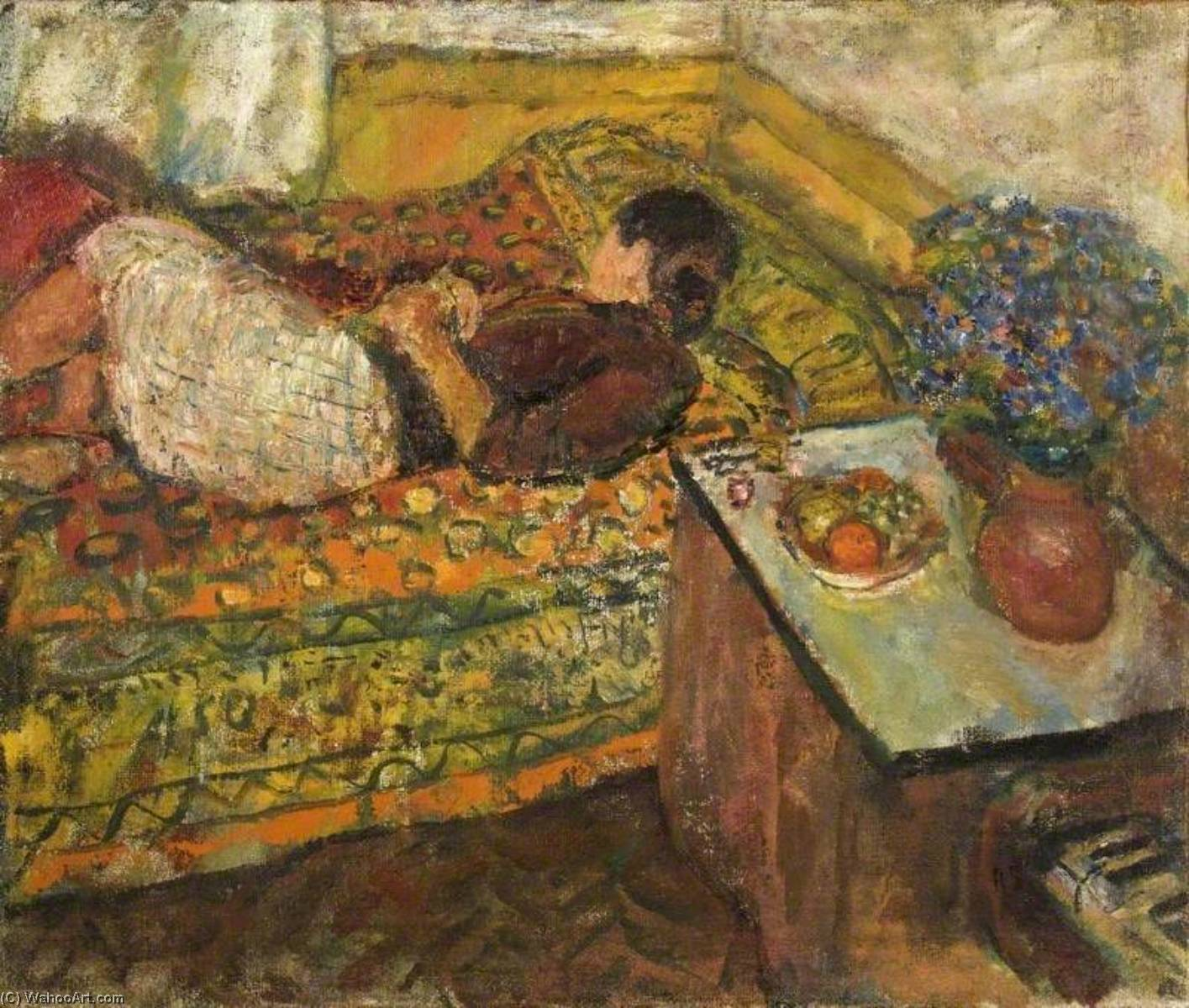 | sieste de Ruskin Spear | Most-Famous-Paintings.com