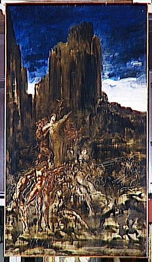 Achat Reproductions De Peintures | Tyrtée de Gustave Moreau | Most-Famous-Paintings.com